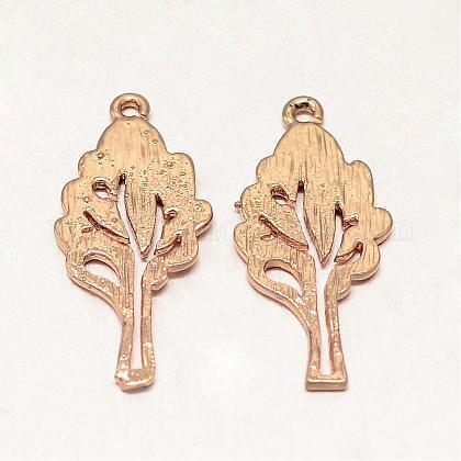 Rack Plating Brass PendantsKK-UK0005-11-1