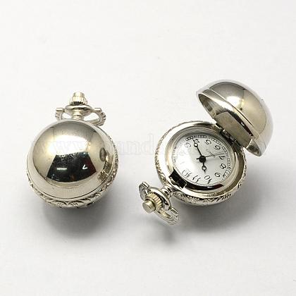 Cabezas del reloj del cuarzo de la aleación de la vendimia de zincWACH-R008-11-1