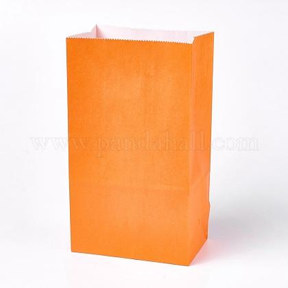 Sac en papier kraft de couleur pureCARB-WH0008-12-1