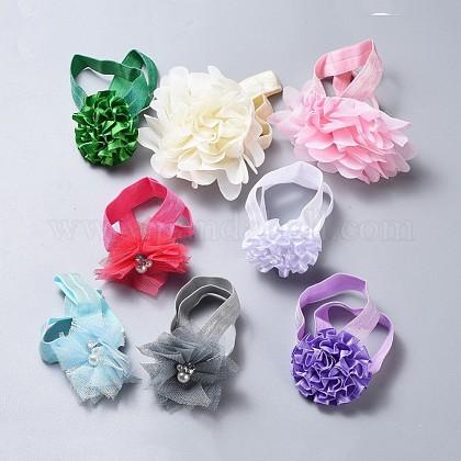 Bandas elásticas de poliéster para bebés para niñasOHAR-MSMC001-04-1