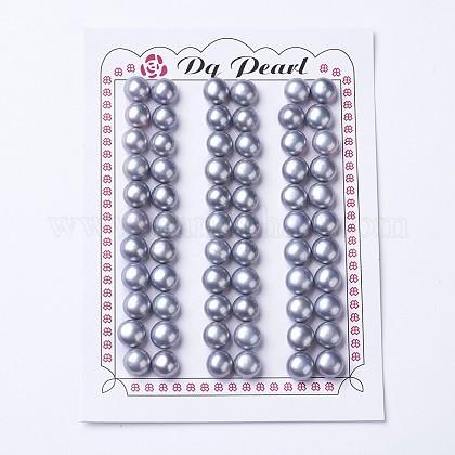 Perlas naturales abalorios de agua dulce cultivadasPEAR-I004C-01-1