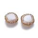 Perlas naturales abalorios de agua dulce cultivadasPEAR-F015-16-2