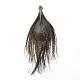 Colgantes de plumas de pavo realRB-T002-05-3