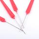 覆われたプラスチック製のハンドル付き鉄かぎ針編みのフックTOOL-S007-01-1