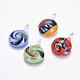 Handmade Dichroic Glass PendantsX-DICH-X039-M-1