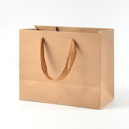 Rectangle Kraft Paper Bags AJEW-L047A-01-1