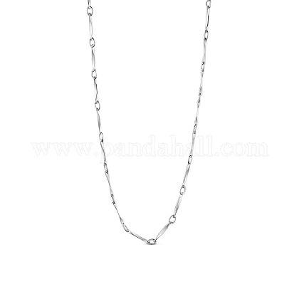 SHEGRACE® 925 Sterling Silver Chain NecklacesJN733A-1
