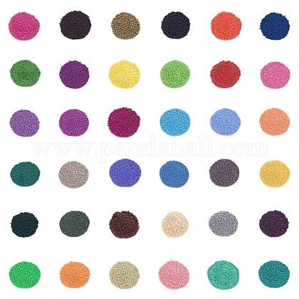 Perles rocailles de peinture au four fgb®SEED-JP0007-01-1