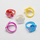 Valentine Day Gifts for Kids Acrylic Rings for KidsRJEW-S618-2-1