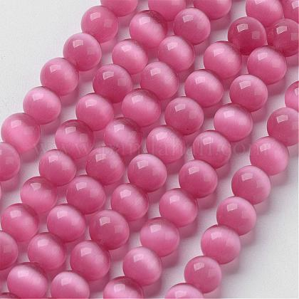 Cat Eye Beads CER8mm22-1