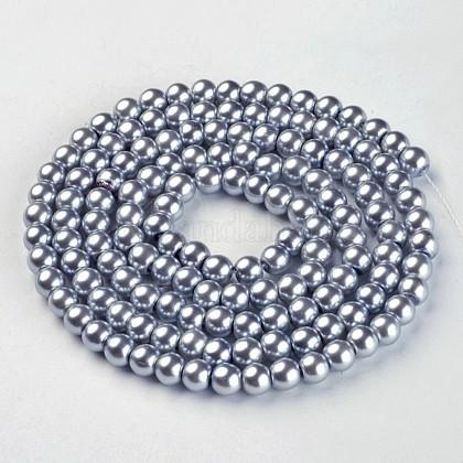 Стеклянные жемчужные бусиныHY-6D-B18-1