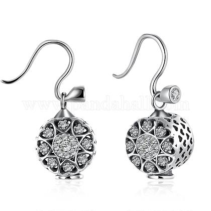 925 Sterling Silver EarringsEJEW-BB17737-1