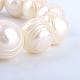 Hebras de perlas de agua dulce cultivadas naturalesPEAR-R015-42-2