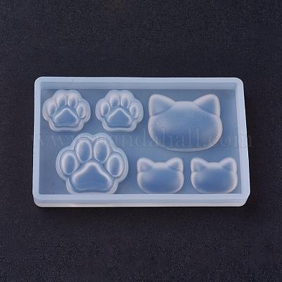 ATATMOUNT Stampi in Resina siliconica per Gatti Fai-da-Te Stampi per Gioielli con ciondoli per Animali