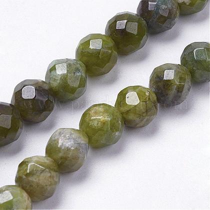 Natural Green Quartz Beads StrandsG-K181-L01-1