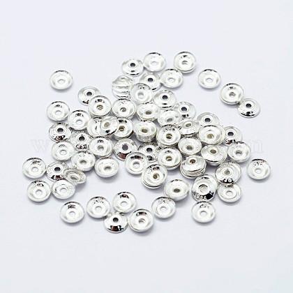 925 casquette de perle en argent sterlingSTER-G022-06S-5mm-1
