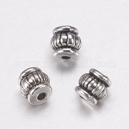 Abalorios de aleación de estilo tibetanoX-TIBEB-Q043-AS-FF-1
