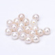 Natural Cultured Freshwater Pearl Half Drilled BeadsPEAR-R063-48-1