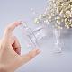 Transparent Small Plastic BottlesMRMJ-BC0001-08-2