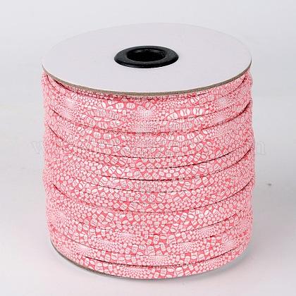 Flat Imitation Leather CordsLC-L003-17-1