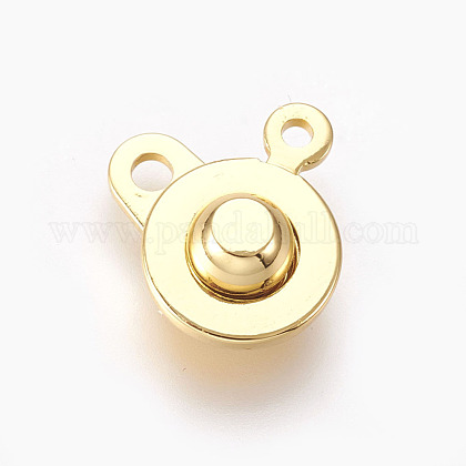 Brass Snap ClaspsKK-P164-21G-1