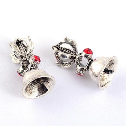 Perlas de aleación de zinc de estilo tibetanoTIBE-Q056-08-LF-1