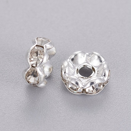 Rhinestone Spacer Beads RSB04C14-1