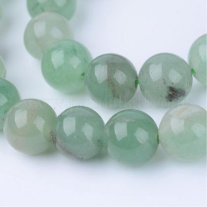 Natural Green Aventurine Beads StrandsG-Q462-10mm-20-1