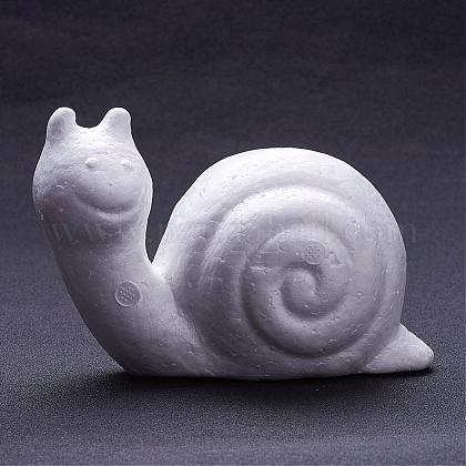 Snail Modelling Polystyrene Foam /Styrofoam DIY Decoration CraftsDJEW-F001-03-1