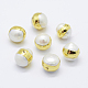 Perlas naturales abalorios de agua dulce cultivadasPEAR-F006-56G-1