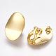 Brass Clip-on Earring FindingsKK-T038-246G-3