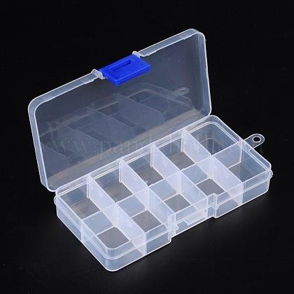 10 Compartment Organiser Storage Plastic BoxC006Y-1