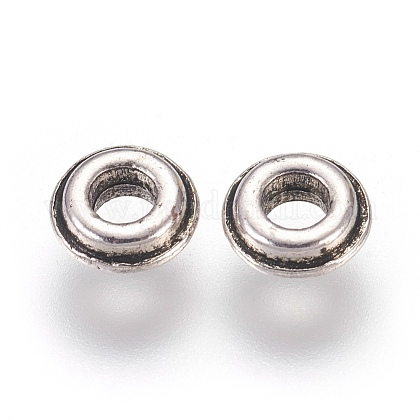 Tibetan Style Alloy Spacer BeadsX-LF0556Y-NF-1