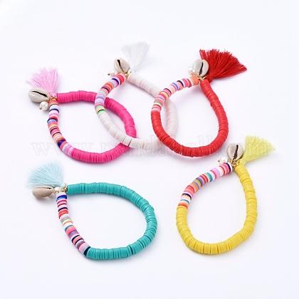Estirar las pulseras de charmBJEW-JB05083-1