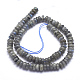 Natural Labradorite Beads StrandsG-K223-17-6mm-2