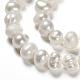 Grado de hebras de perlas de agua dulce cultivadas naturalesSPPA001Y-1-4