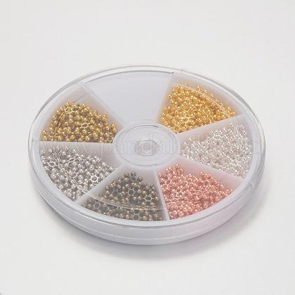 Abalorios de la aleación de zinc copo entrepiezasPALLOY-X0032-B-1