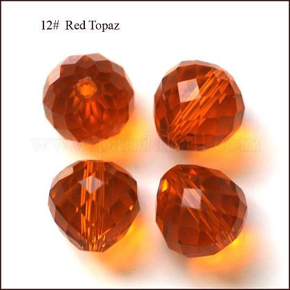 Imitation Austrian Crystal BeadsSWAR-F067-8mm-12-1