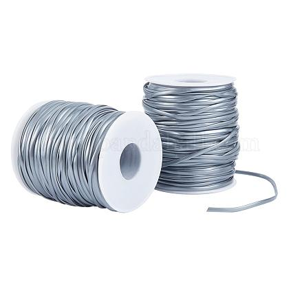 Pandahall 2 рулон 100 м пластиковый шнур для шнуровки 2.3 мм шнур для шнурка для изготовления ювелирных браслетовOCOR-PH0003-68A-1