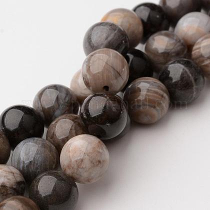 Natural Quartz Round Beads StrandsG-K103-8mm-1