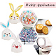 Animaux thème sacs en plastique et fleurs sac de papier floralABAG-PH0002-32-7