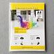 A4 Sublimation Transfer Paper, for Garment DIY Inkjet Printer, White, 29.7x21cm