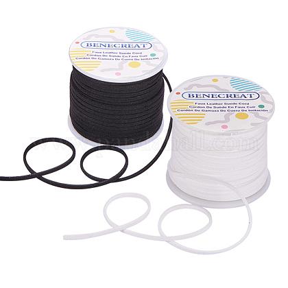 Cordones de gamuza sintéticaLW-BC0002-01-1