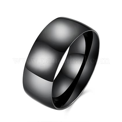 Мужские широкие кольца из титановой стали vogue 316RJEW-BB15804-8-1