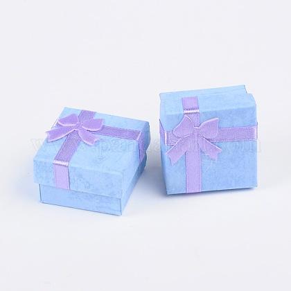 Boîtes à bagues en cartonCBOX-G003-08C-1