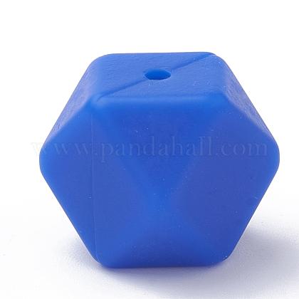 Abalorios de silicona ambiental de grado alimenticioSIL-Q009A-34-1