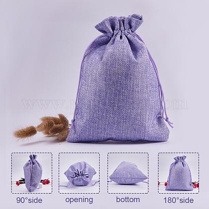 黄麻布ラッピングポーチ巾着袋ABAG-PH0002-24-1