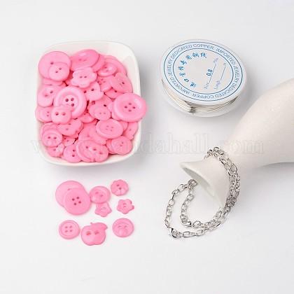 Free Tutorial DIY Jewelry Sets For Bracelet MakingDIY-LC0015-11-1