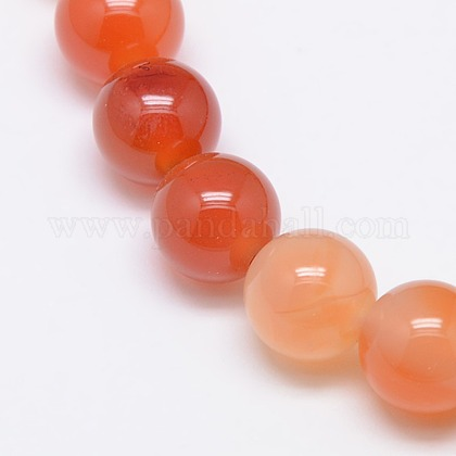 Natural Carnelian Beads StrandsG-N0006-12mm-17-1