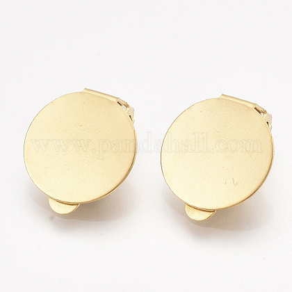 304 Stainless Steel Clip-on Earring FindingsX-STAS-T045-33D-G-1